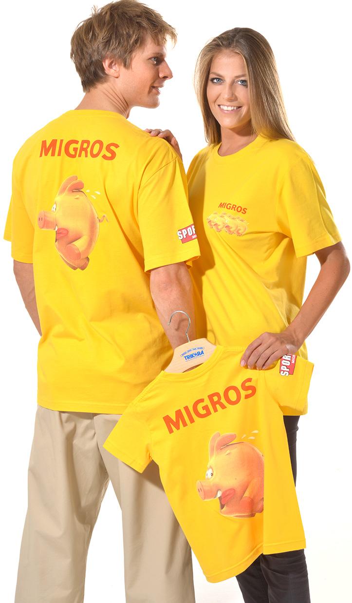 Migros Kollektion von Trikora