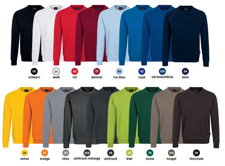 Farben für Sweatshirt 475