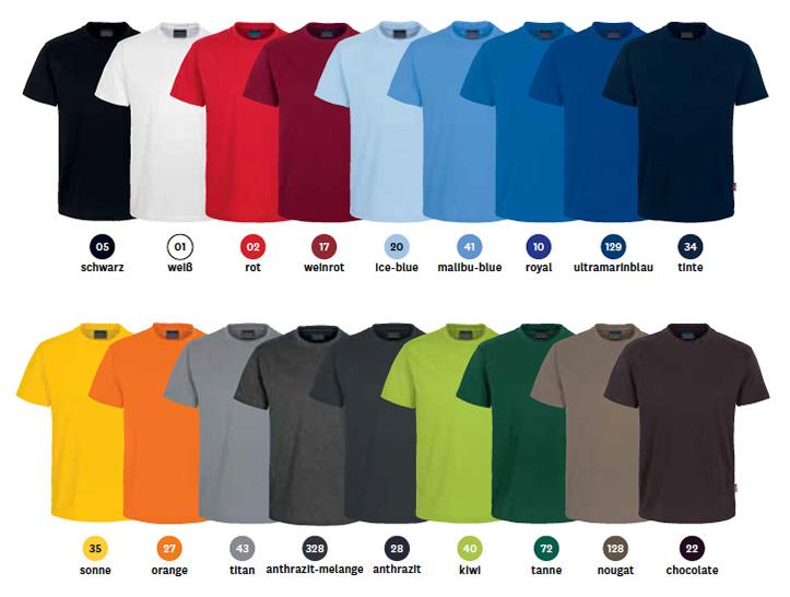 Farben für T-Shirt 281