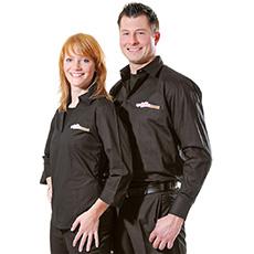 Hemd und Blouse für Restaurants und Bars und Hotel