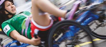 Trikora unterstützt den Cybathlon Rollstuhlrennen