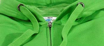 Umwelt Pullover Zipper