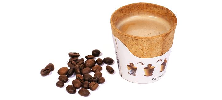 Kaffeebecher essbar